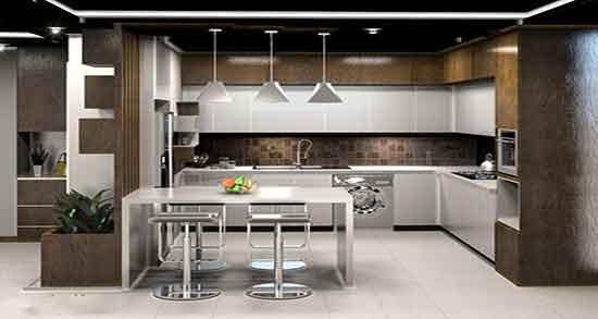 تعبیر خواب آشپزخانه ، ابن سیرین و کابینت چوبی و مطبخ و ساختن آشپزخانه