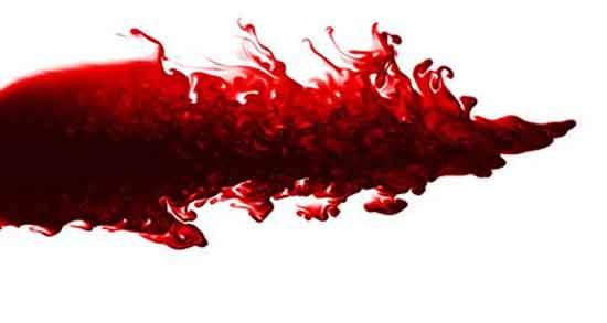 تعبیر خواب خون ، از دهان و قاعدگی و امدن از سر و واژن و خون بالا اوردن روی زمین
