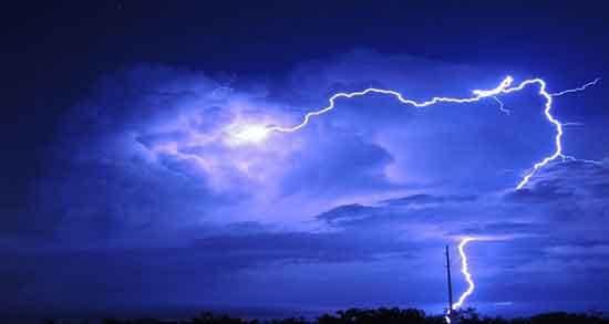 تعبیر خواب رعد و برق ، حضرت یوسف و تگرگ و صدای شدید و برق زدگی بدون باران