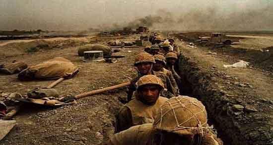 تعبیر خواب جنگ ایران و عراق ، بمباران و فرار از جنگ و تیراندازی و کشته شدن