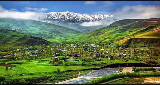 تعبیر خواب کوه و دشت سرسبز ، و منظره زیبا و صحرا و درخت و دیدن باغ و آب و تپه