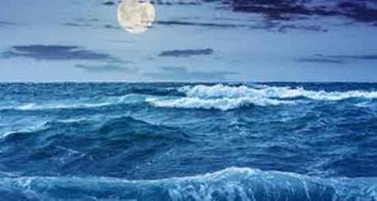 تعبیر خواب مد ، و بالا آمدن سطح آب دریا و جزر و مد در خواب چیست