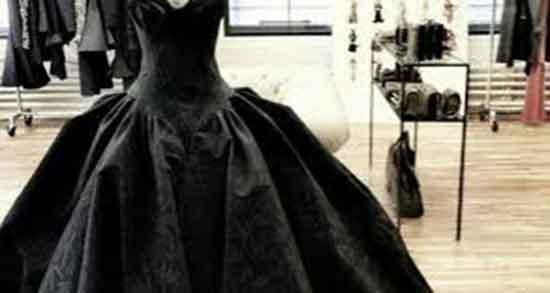 تعبیر خواب لباس عروس مشکی ، برای زن متاهل و پیراهن مشکی زنانه