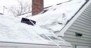 تعبیر خواب برف روی پشت بام ، و پارو کردن برف روی پشت بام و جنگل برفی