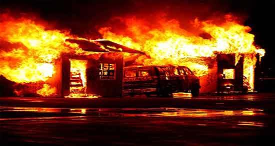 تعبیر خواب آتش گرفتن همسر ، معنای آتش گرفتن و سوختن همسر در خواب چیست