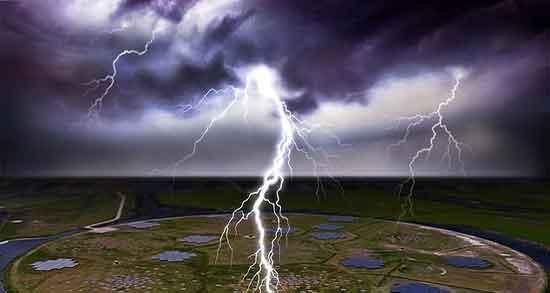 تعبیر خواب رعد و برق باران ؛ معنی دیدن رعد و برق باران در خواب ما چیست