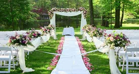 تعبیر خواب عروسی در باغ ؛ معنی دیدن عروسی در باغ در خواب ما چیست