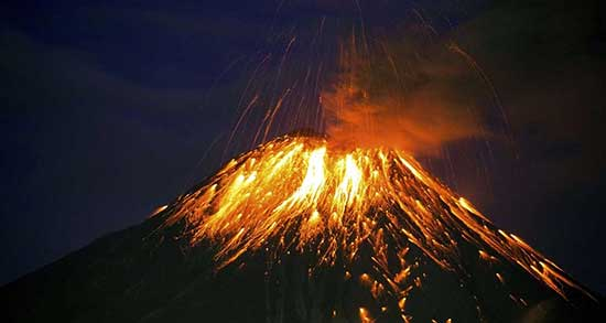 تعبیر خواب آتشفشان حضرت یوسف ، معنی دیدن آتشفشان حضرت یوسف در خواب