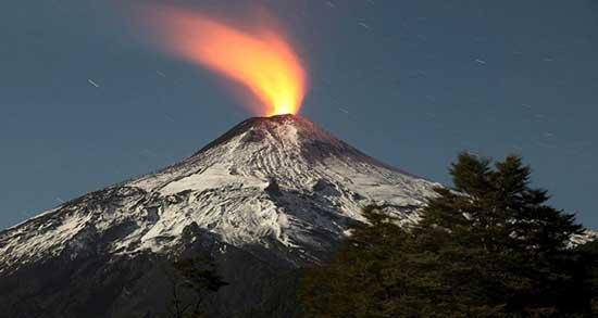تعبیر خواب دیدن کوه آتشفشان ، معنی دیدن کوه آتشفشان در خواب های ما چیست