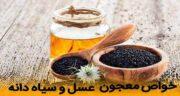 خواص سیاه دانه با عسل ؛ معجون دارویی معروف به دو سین