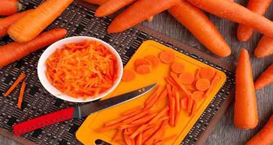 خواص هویج ؛ پخته و فرنگی و رنده شده و خام در طب سنتی و سوپ برای کودکان