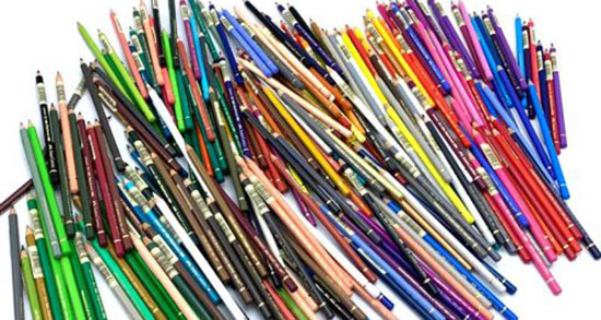 تعبیر خواب مداد رنگی قرمز ، معنی دیدن مداد رنگی قرمز در خواب چیست