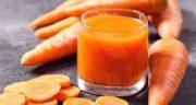 آب هویج در اوایل بارداری ؛ چاق نشدن بعد از زایمان و بینایی قوی فرزند و مادر