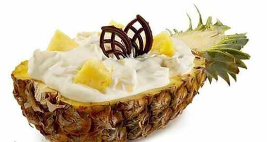 خواص آناناس و ماست ؛ دسری فوق العاده خوشمزه و مقوی