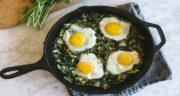 خواص اسفناج با تخمه مرغ ؛ غذای خوشمزه و پرخاصیت با اسفناج و تخم مرغ
