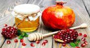 خواص انار و عسل ؛ ماسک صورت عالی و درمان کننده زخم با ترکیب انار و عسل