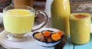 خواص زردچوبه با شیر ؛ تاثیر مصرف شیر و زردچوبه برای سلامت بدن