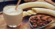 خواص موز و بادام ؛ خاصیت درمانی ترکیب موز و بادام برای سلامتی