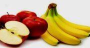 خواص موز و سیب