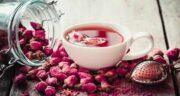 خواص گلاب در چای ؛ فواید ریختن گلاب در چای برای سلامتی