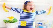 خوردن موز ناشتا برای کودکان ؛ خواص مصرف ناشتا موز برای بچه ها