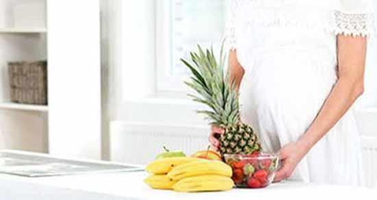 فواید آناناس در بارداری ؛ سلامت جنین داخل شکم مادر با مصرف آناناس