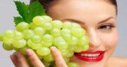 فواید انگور برای پوست ؛ خاصیت انگور برای شفافیت و روشن شدن پوست صورت