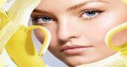 فواید موز برای پوست ؛ استفاده از موز برای لایه برداری پوست صورت