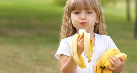 فواید موز برای کودک ؛ خواص بسیار زیاد موز برای افزایش رشد بچه ها