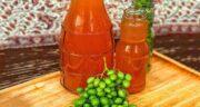 آبغوره برای سردرد ؛ طرز تهیه خمیر ابغوره و فلفل برای درمان گیاهی سردرد