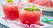 تهیه آب هندوانه ؛ طرز تهیه اسموتی هندوانه در طعم های مختلف
