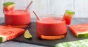 خواص آب هندوانه و گلاب ؛ برای افرادی که در تابستان دچار گرمازدگی می شوند