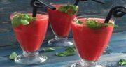 فواید آب هندوانه برای پوست صورت ؛ از آشکار شدن چین و چروک ها پیشگیری میکند