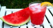 آب هندوانه و نعناع ؛ طرز تهیه اسموتی هندوانه و نعنا
