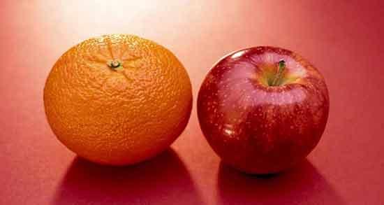 خواص پرتقال و سیب ؛ بررسی ارزش غذایی و خواص پرتقال با سیب