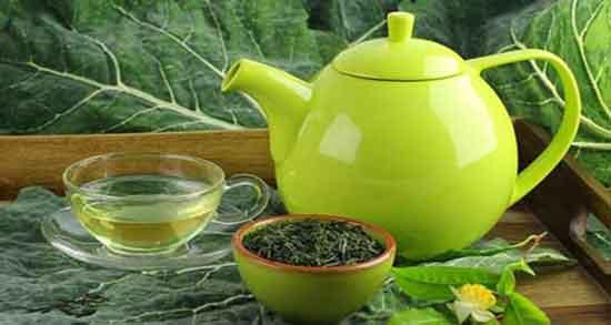 خواص چای سبز برای پوست ؛ جوان سازی و لایه برداری پوست صورت با چای سبز