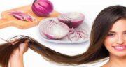 فواید پیاز برای مو ؛ خاصیت استفاده از پیاز برای رشد مو