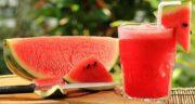 هندوانه برای تب ؛ کاهش درجه حرارت بدن و تب با مصرف هندوانه