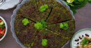 پیازچه در کوکو سبزی ؛ خوشمزه تر کردن کوکو سبزی با استفاده از سبزی پیازچه