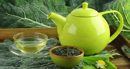 چای سبز برای پوست ؛ درمان آکنه و جوش صورت با استفاده از چای سبز