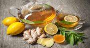 خواص دمنوش زنجبیل و لیمو ترش ؛ چربی سوزی و لاغری با دمنوش زنجبیل و لیمو ترش