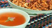 خواص چای به و گل محمدی ؛ آرامش اعصاب با مصرف چای به و گل محمدی