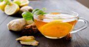 خواص چای زنجبیل در بارداری ؛ درمان تهوع بارداری با نوشیدن چای زنجبیل