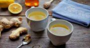 خواص چای زنجبیل و لیمو ؛ تاثیر خوردن چای زنجبیل و لیمو برای کاهش وزن سریع