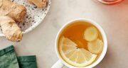 خوردن چای زنجبیل در بارداری ؛ فواید مصرف چای زنجبیل برای درمان تهوع بارداری