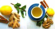 دمنوش زنجبیل و لیمو برای لاغری ؛ کاهش وزن و تناسب اندام با دمنوش زنجبیل و لیمو