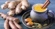 طرز تهیه دمنوش زنجبیل و زردچوبه ؛ بهترین روش تهیه دمنوش زنجبیل و زردچوبه
