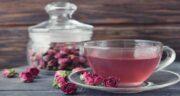 فواید دمنوش گل محمدی ؛ خواص دمنوش گل محمدی برای سلامتی ، لاغری و پوست