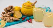فواید چای زنجبیل و زردچوبه ؛ خواص درمانی مصرف چای زنجبیل و زردچوبه برای سلامتی