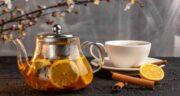 فواید چای زنجبیل و لیمو ؛ درمان گلو درد و سرفه با نوشیدن چای زنجبیل و لیمو